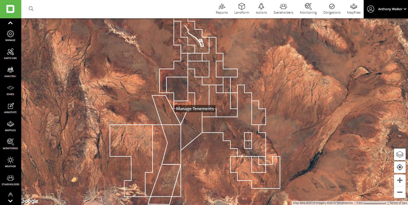 Tenement Management Mining Software - Mine Rehabilitation Relinquishment - Australia