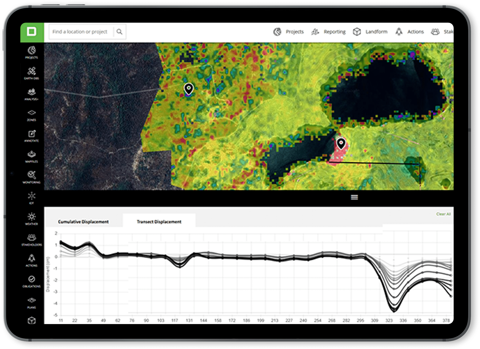 InSAR - Decipher Tailings Monitoring - Wesfarmers